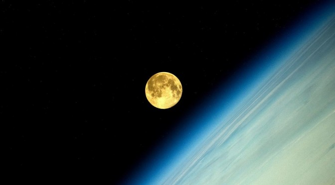 Supermoon on August 14, 2014