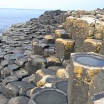 Giant's Causeway - cellules polygonales
