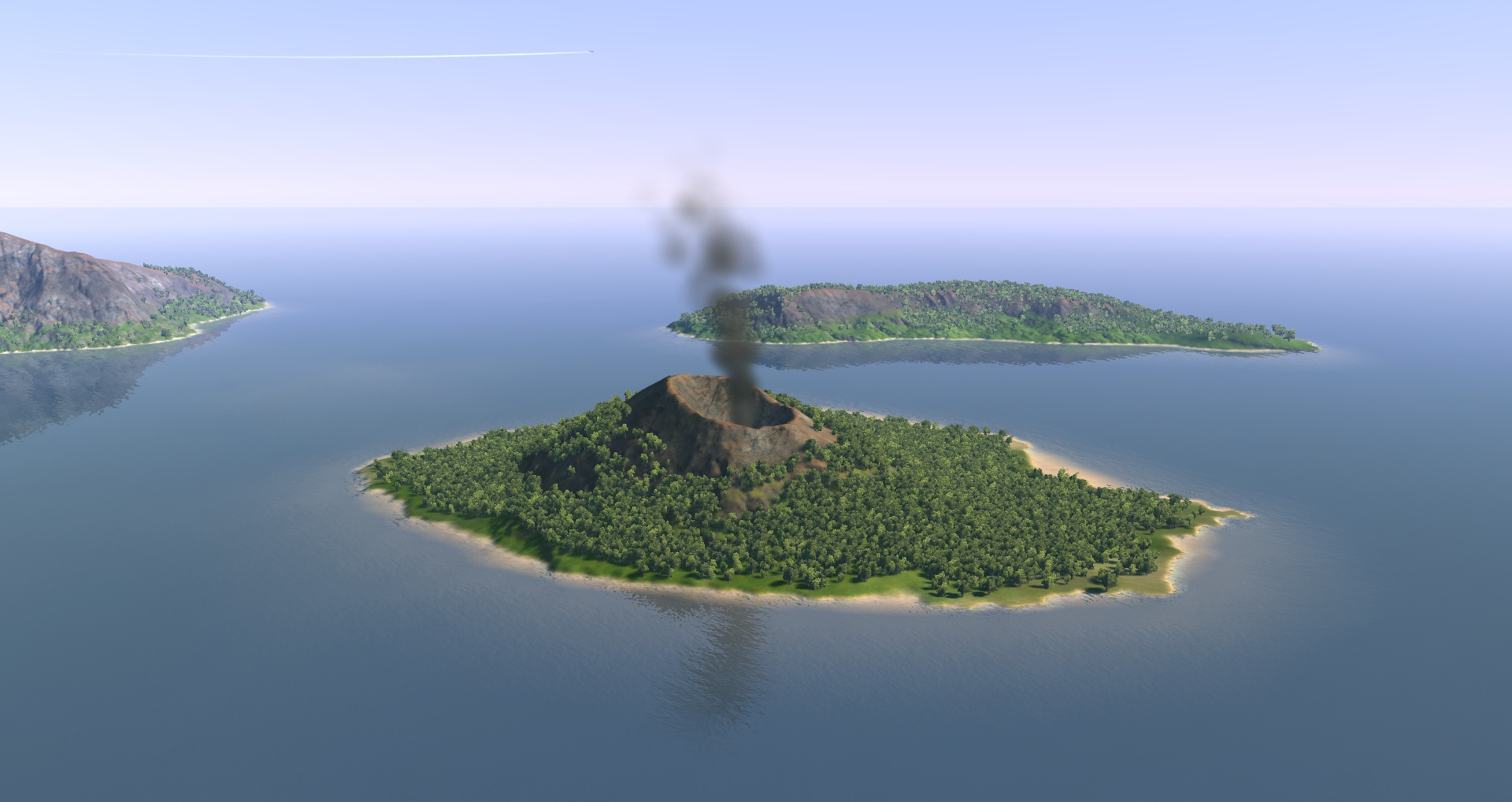 August 29, 2014 1920 × 1018 Krakatoa, from space