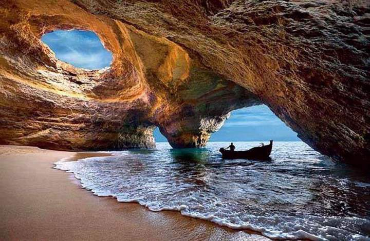 Sea Cave in Benagil Beach
