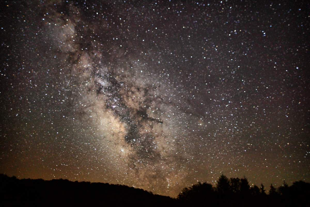 The Milky Way. Will we ever visit other stars?