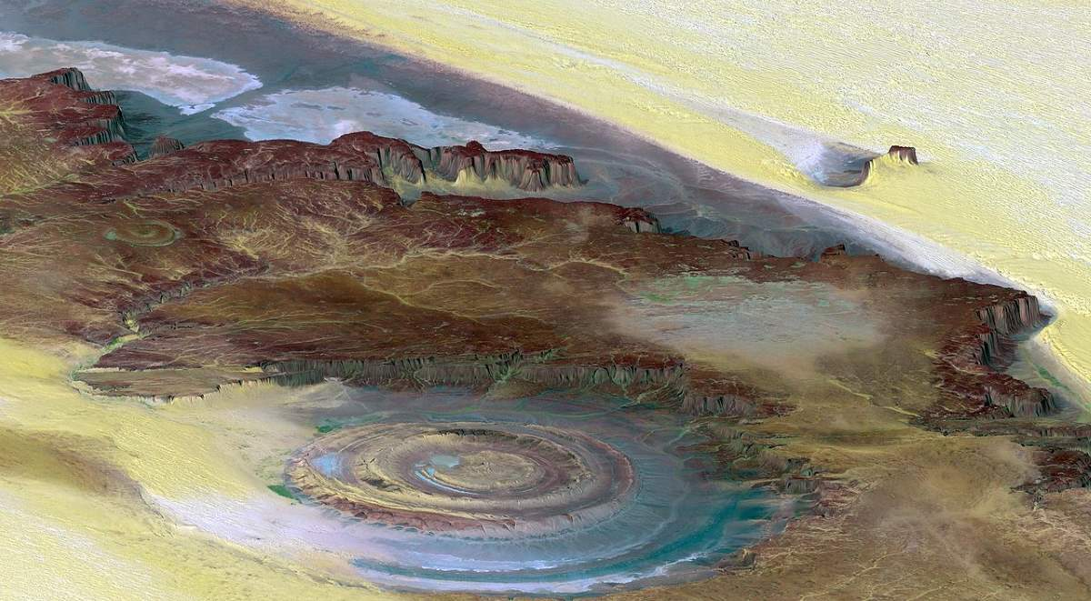 10 Lesser Known Natural Wonders: Richat Structure