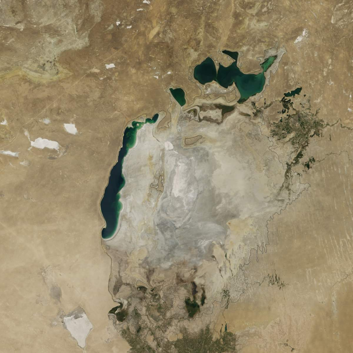 Changing Earth: Aral Sea, August 19, 2014
