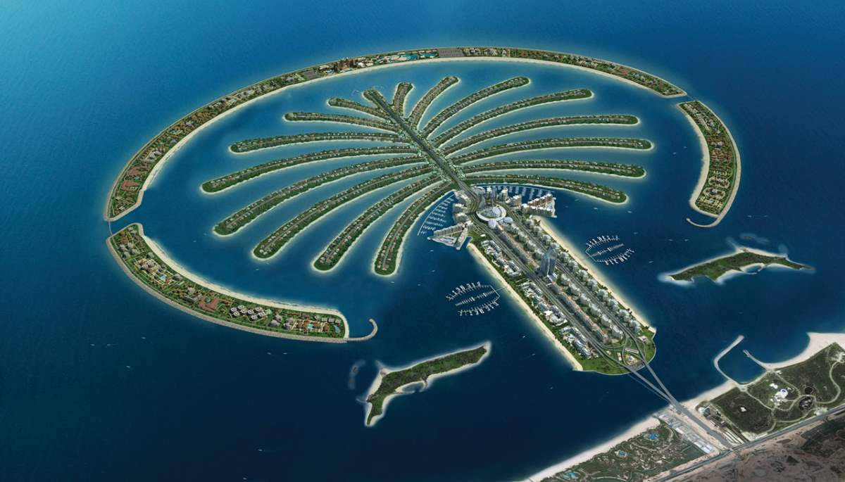 Changing Earth: Palm Jumeirah, Dubai