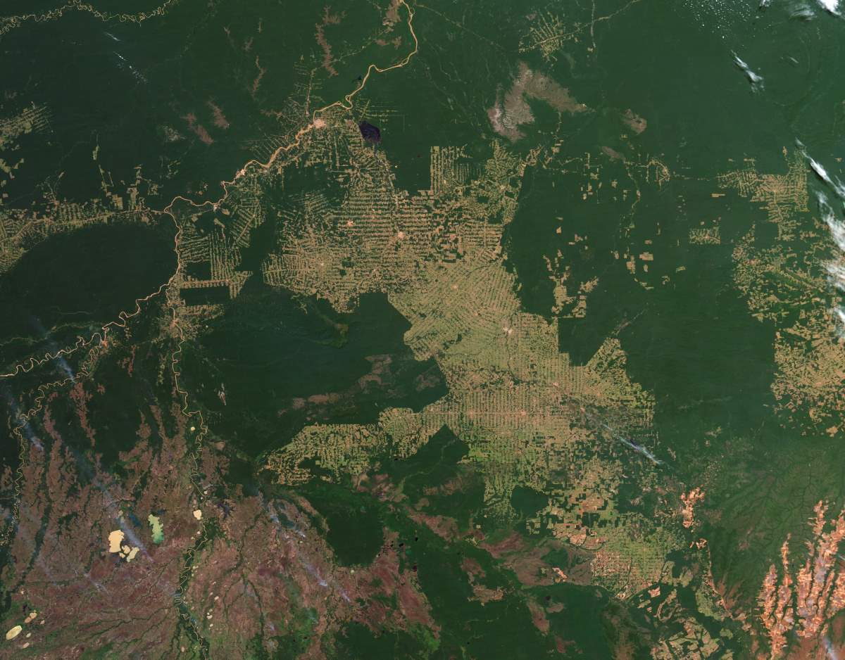Changing Earth: Amazon deforestation, July 18, 2012