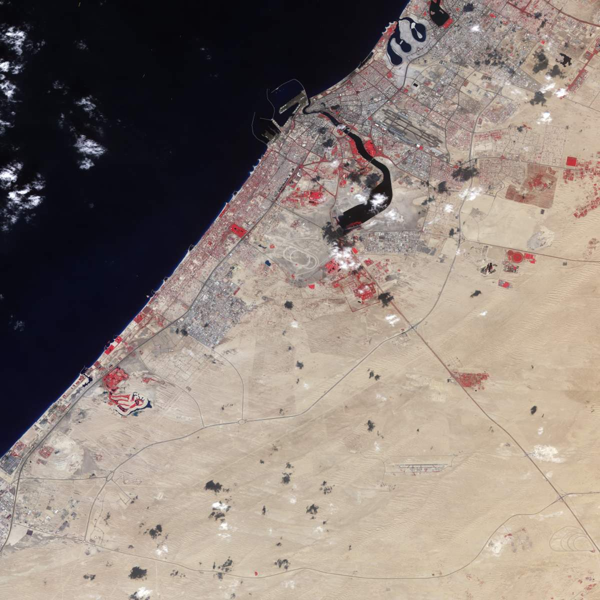 Changing Earth: Dubai, November 11, 2000