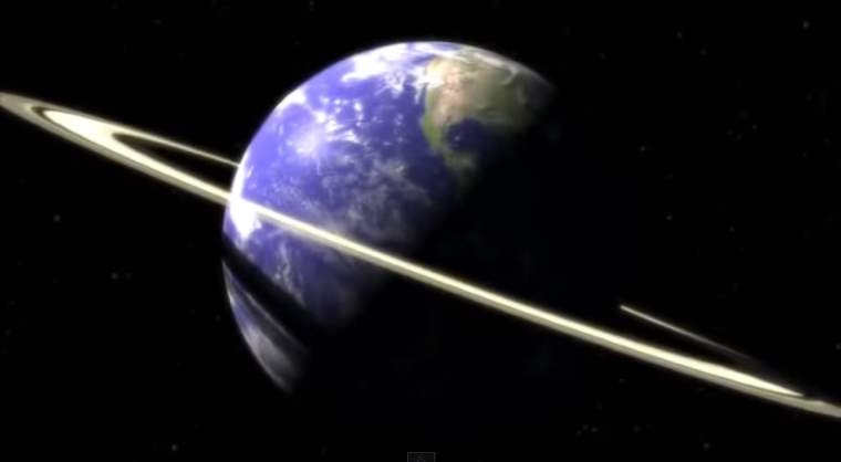 If Earth Had Rings Like Saturn What It Would Look Like