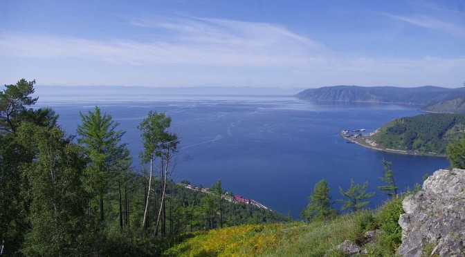 View of Lake Baikal