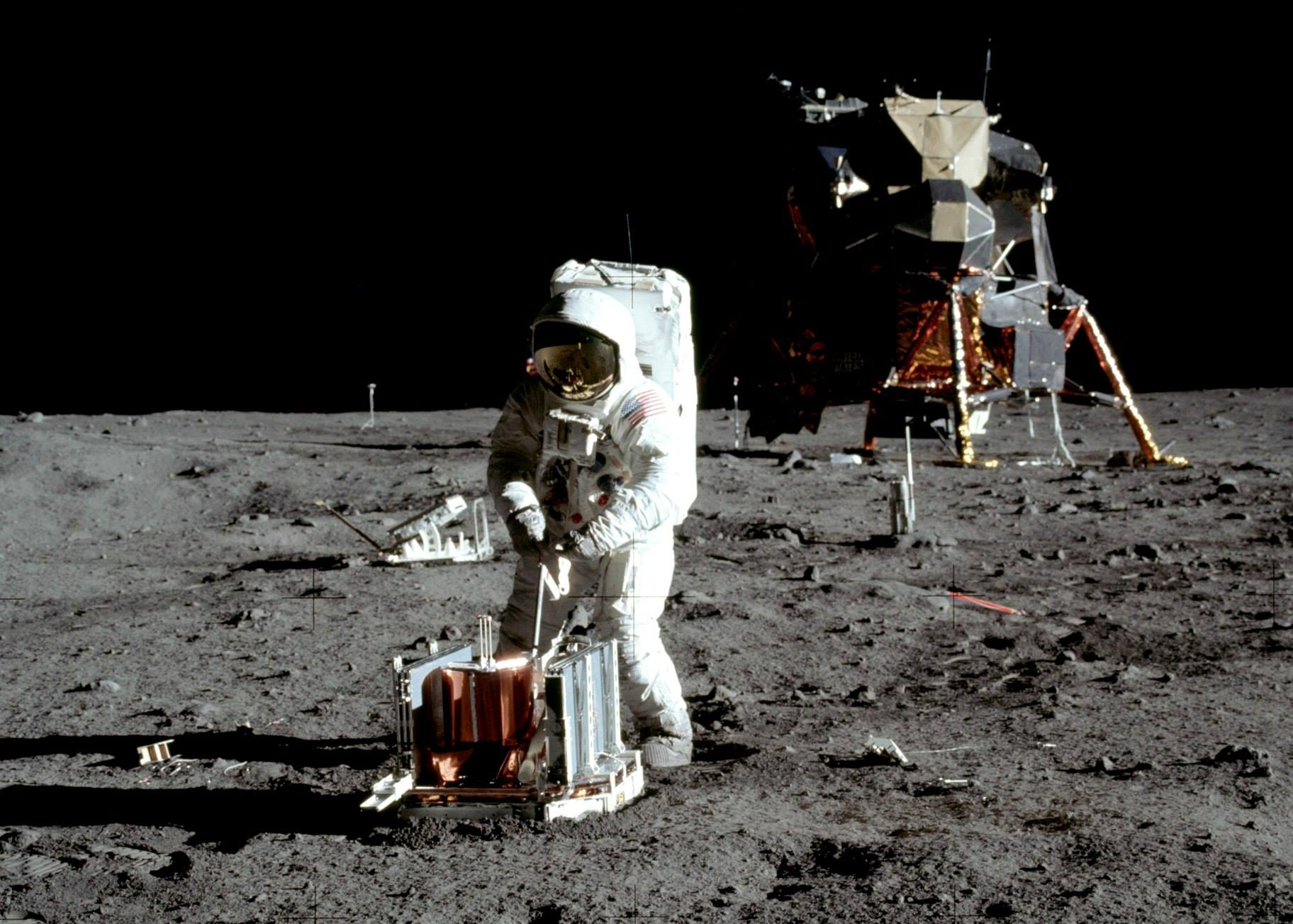 Moonwalking is also Spacewalking