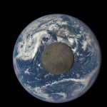 Moon Transiting the Earth – EPIC View