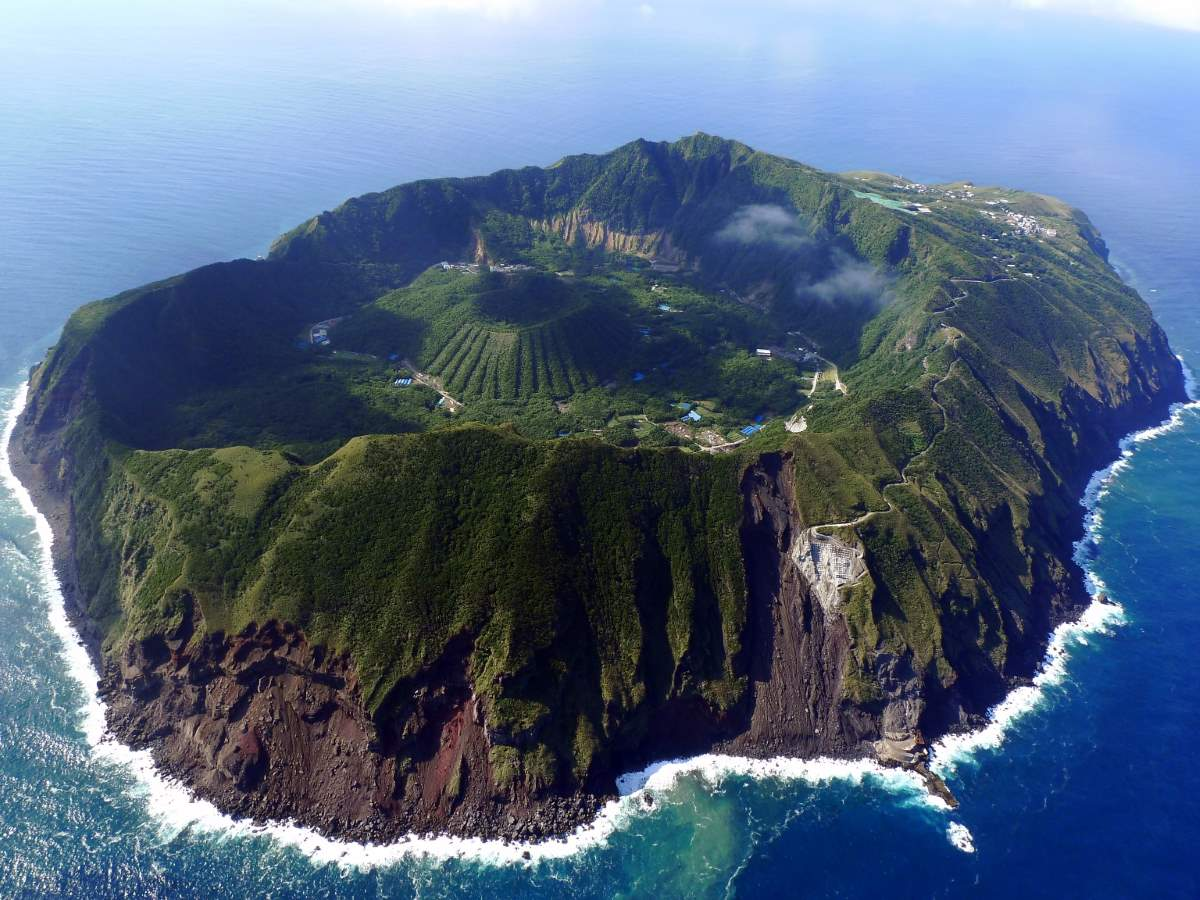 Lesser Known Natural Wonders: Aogashima Island, Japan