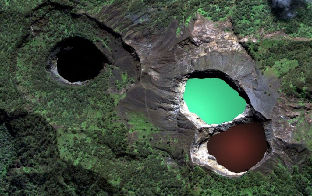 Kelimutu Lakes, Indonesia