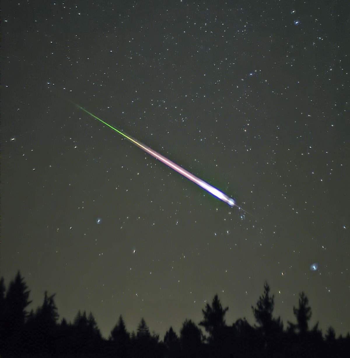 Earth & Solar System Facts: A Leonid meteor