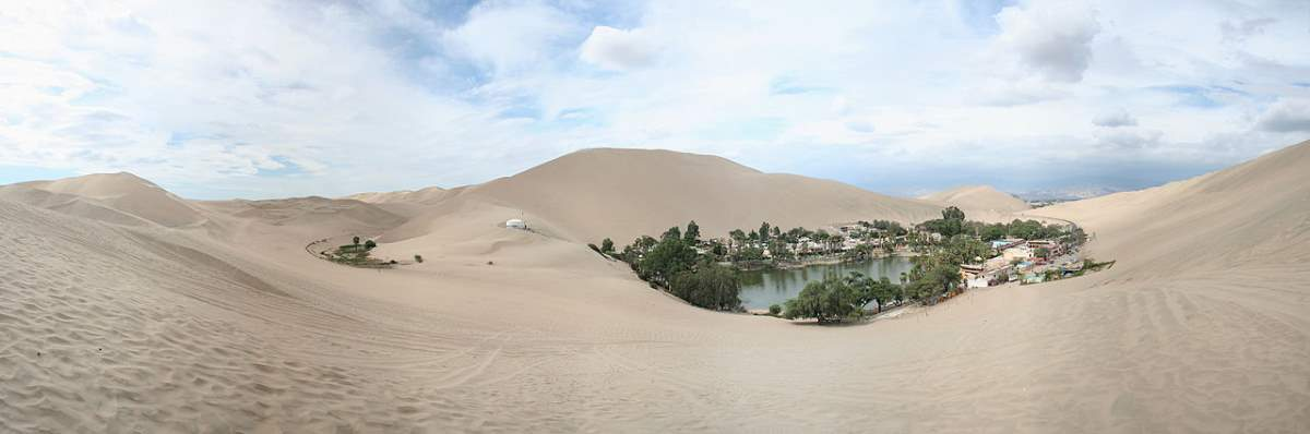 Top 10 driest places on Earth: Huacachina (Ica) Dunes