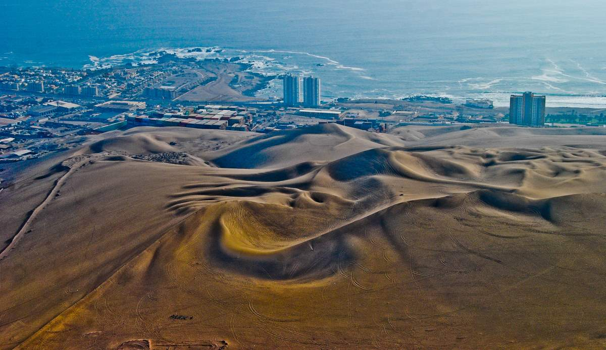 Top 10 driest places on Earth: Iquique, Chile