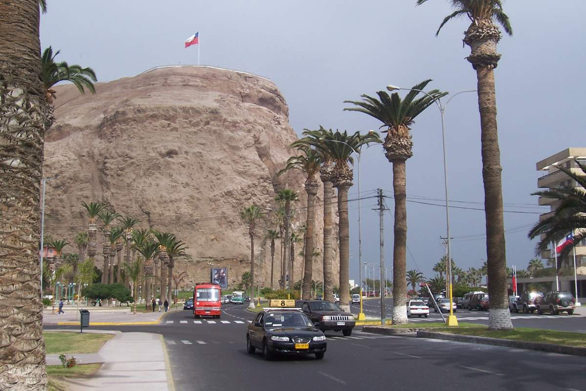 Top 10 driest places on Earth: Morro de Arica