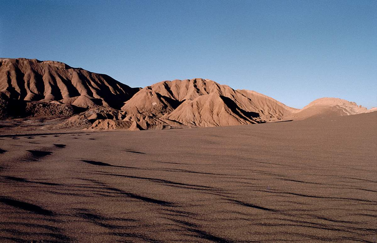 Top 10 driest places on Earth: Valle de la Luna