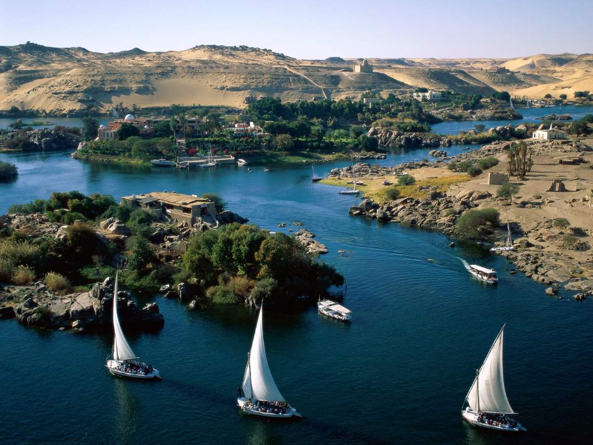 Top 10 driest places on Earth: River Nile in Aswan, Egypt