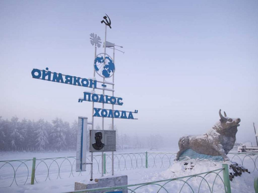 The coldest inhabited place: Oymyakon
