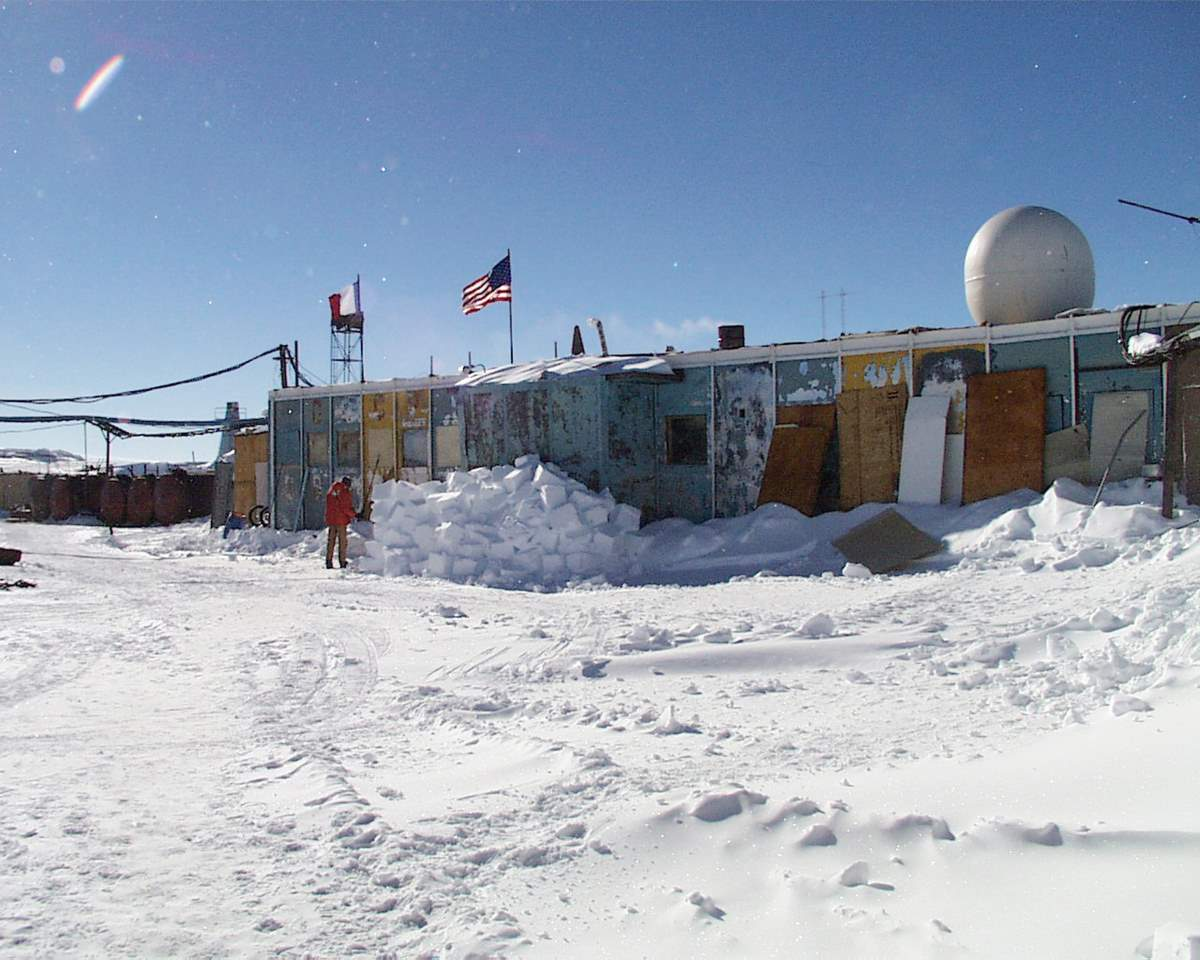 Coldest place on Earth: Vostok Station