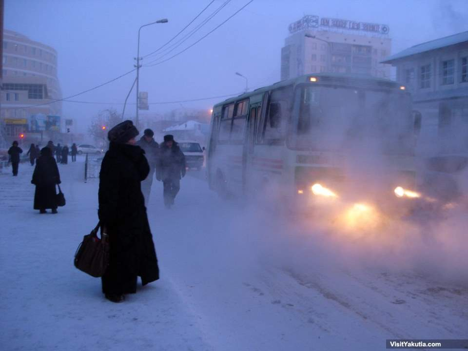 Yakutsk - the coldest city on Earth