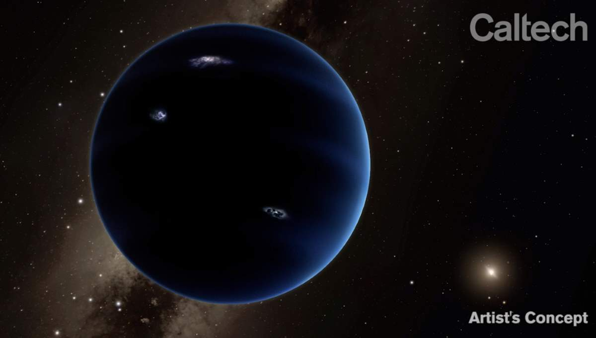 9th Planet, artist's concept