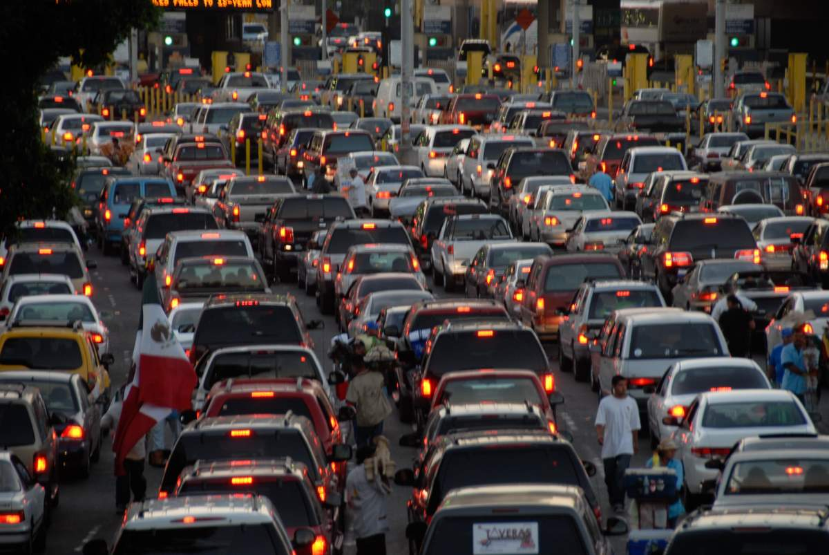 "The World entered a new geological era called ""Anthropocene"" - Traffic jam"