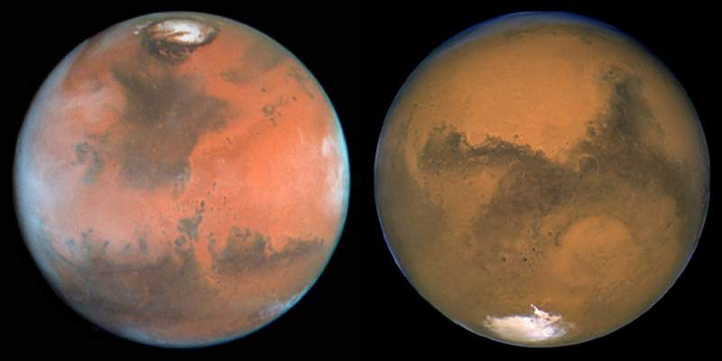 Why we should colonize Mars - The poles of Mars