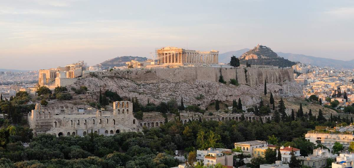 Countries having most number of UNESCO World Heritage Sites: Acropolis of Athens
