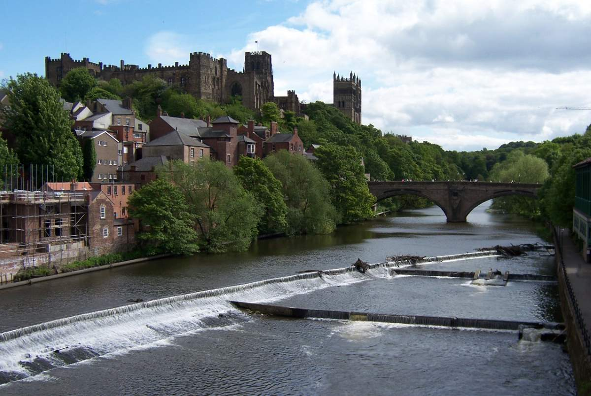 Countries having most number of UNESCO World Heritage Sites: Durham Castle