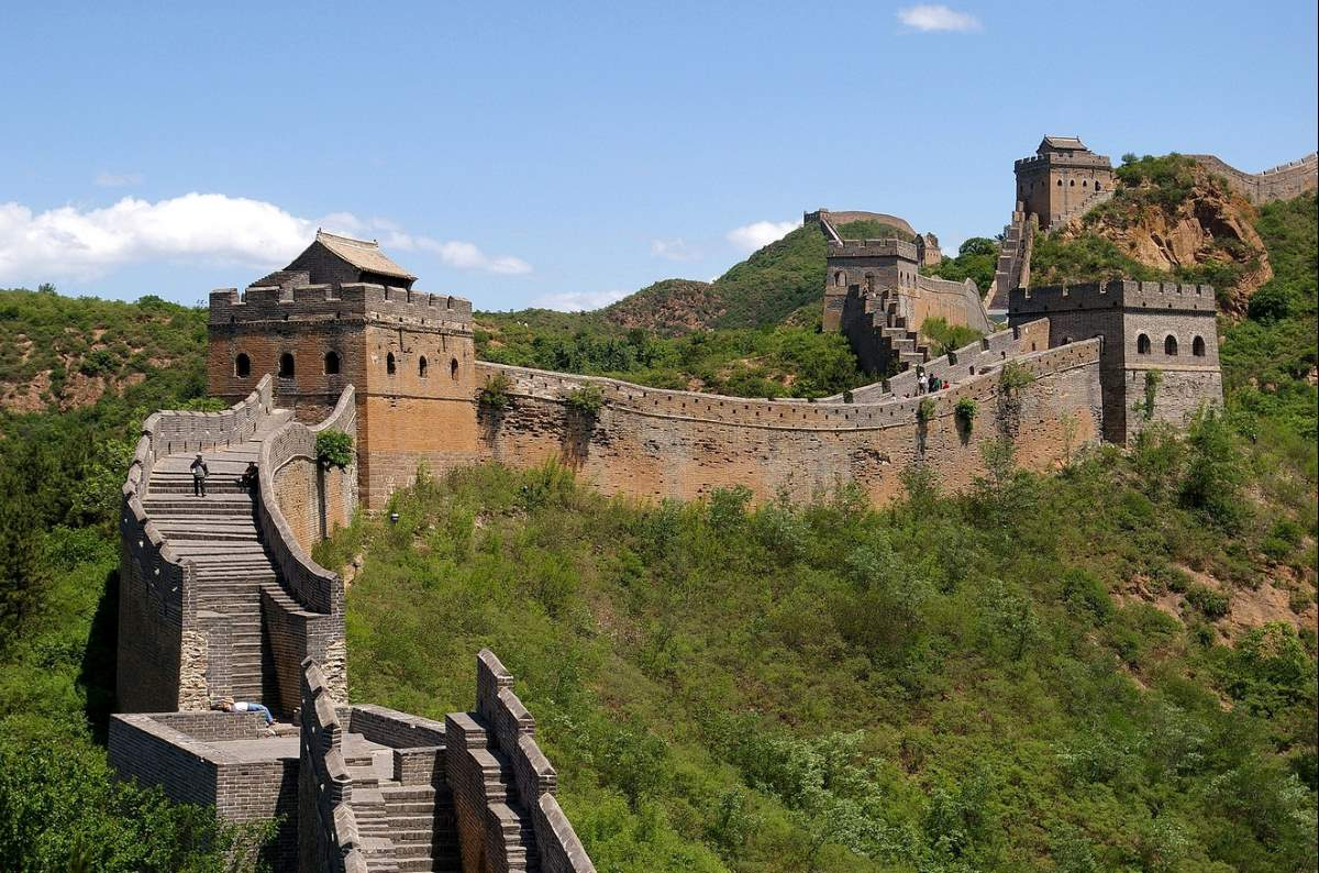 Countries having most number of UNESCO World Heritage Sites: The Great Wall of China