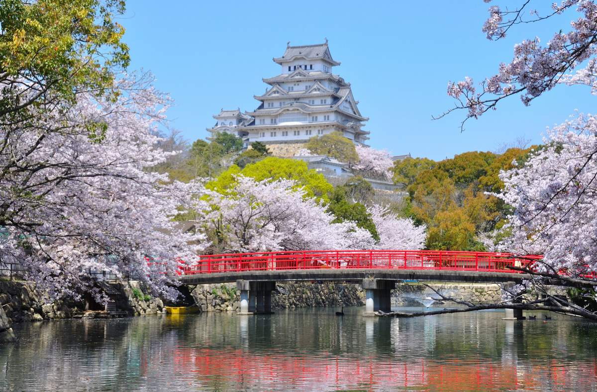 Countries having most number of UNESCO World Heritage Sites: Himeji Castle, Japan