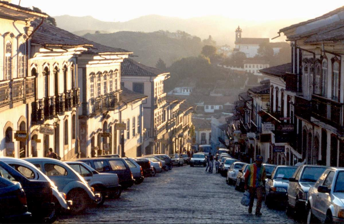 Countries having most number of UNESCO World Heritage Sites: Ouro Preto, Brazil