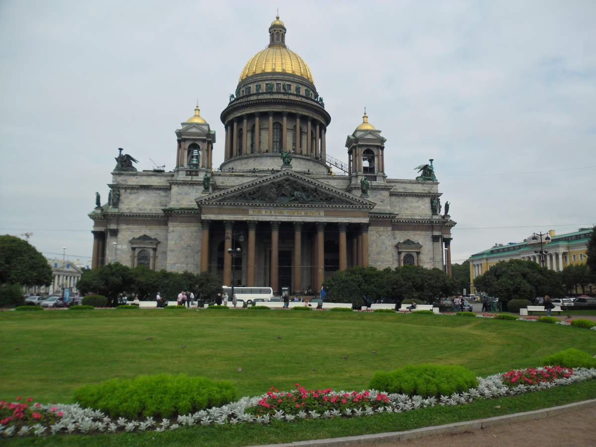Top 20 Countries having most number of UNESCO World Heritage Sites: Saint Isaac's Cathedral