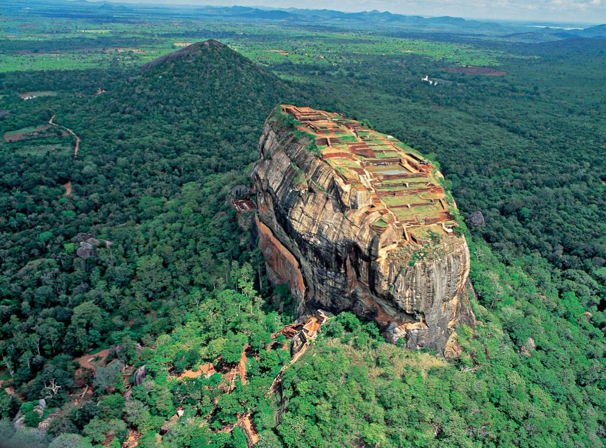 Alternative Seven Wonders Of The World: Sigiriya