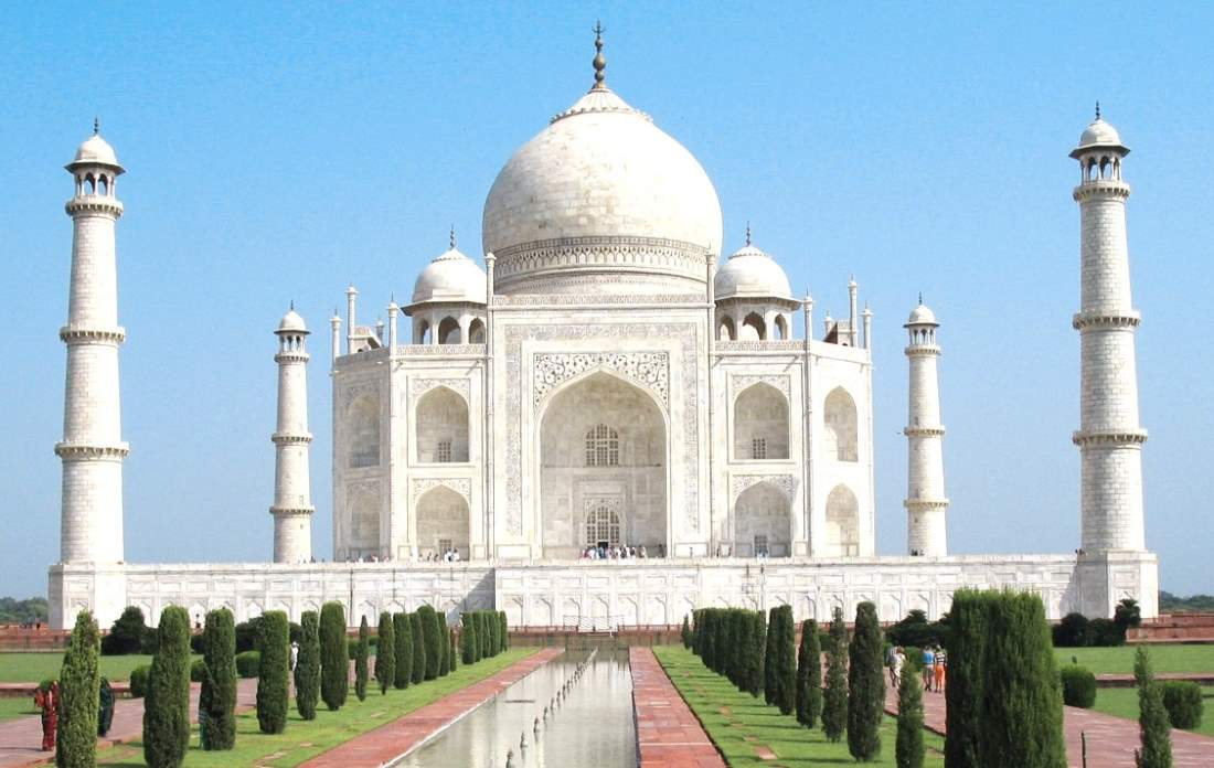 Countries having most number of UNESCO World Heritage Sites: Taj Mahal, India