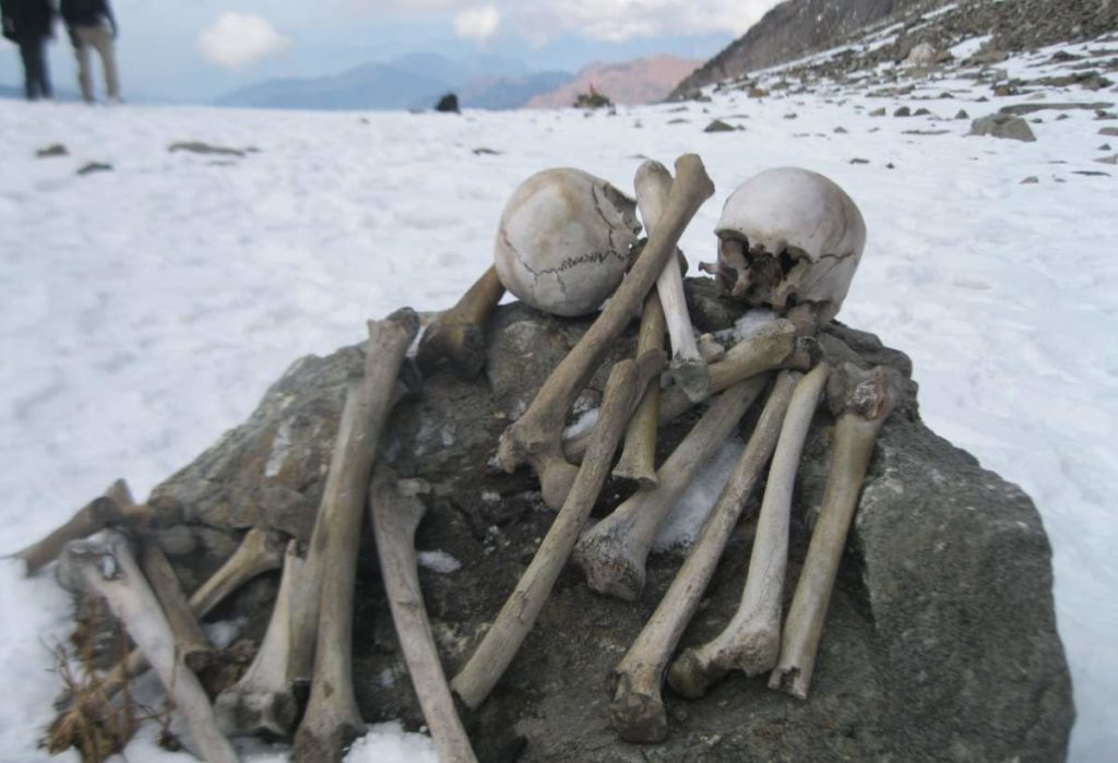 Human Skeletons of Roopkund Lake