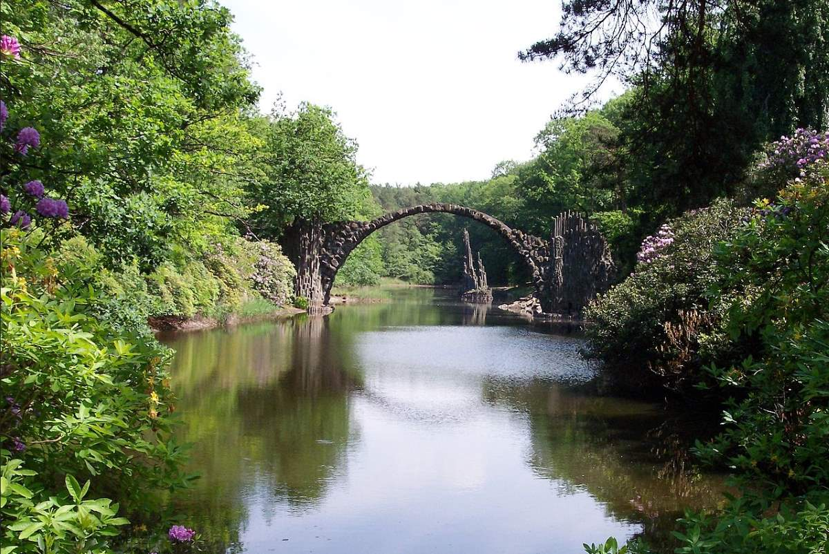 Rakotzbrücke (Rakotz Bridge, also known as Devil's Bridge)