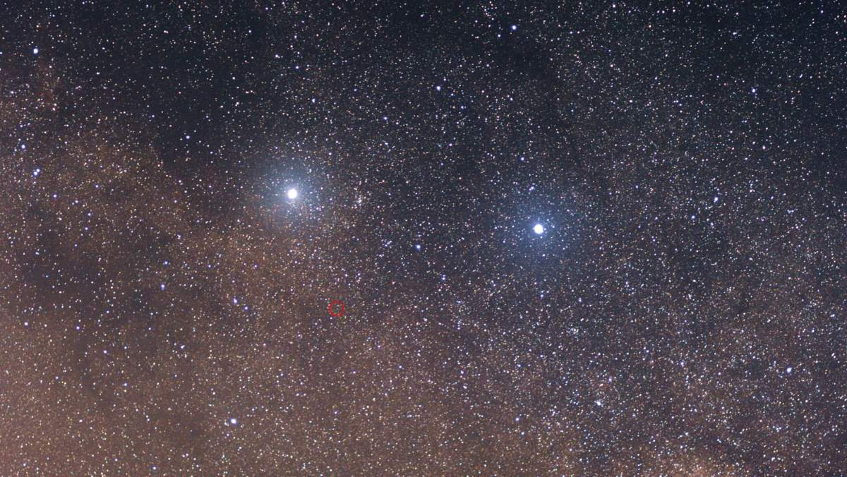Alpha, Beta and Proxima Centauri