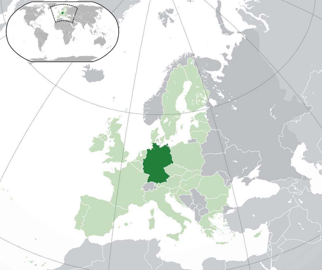 germany location
