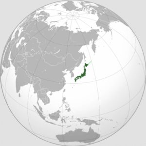 Japan (orthographic projection)