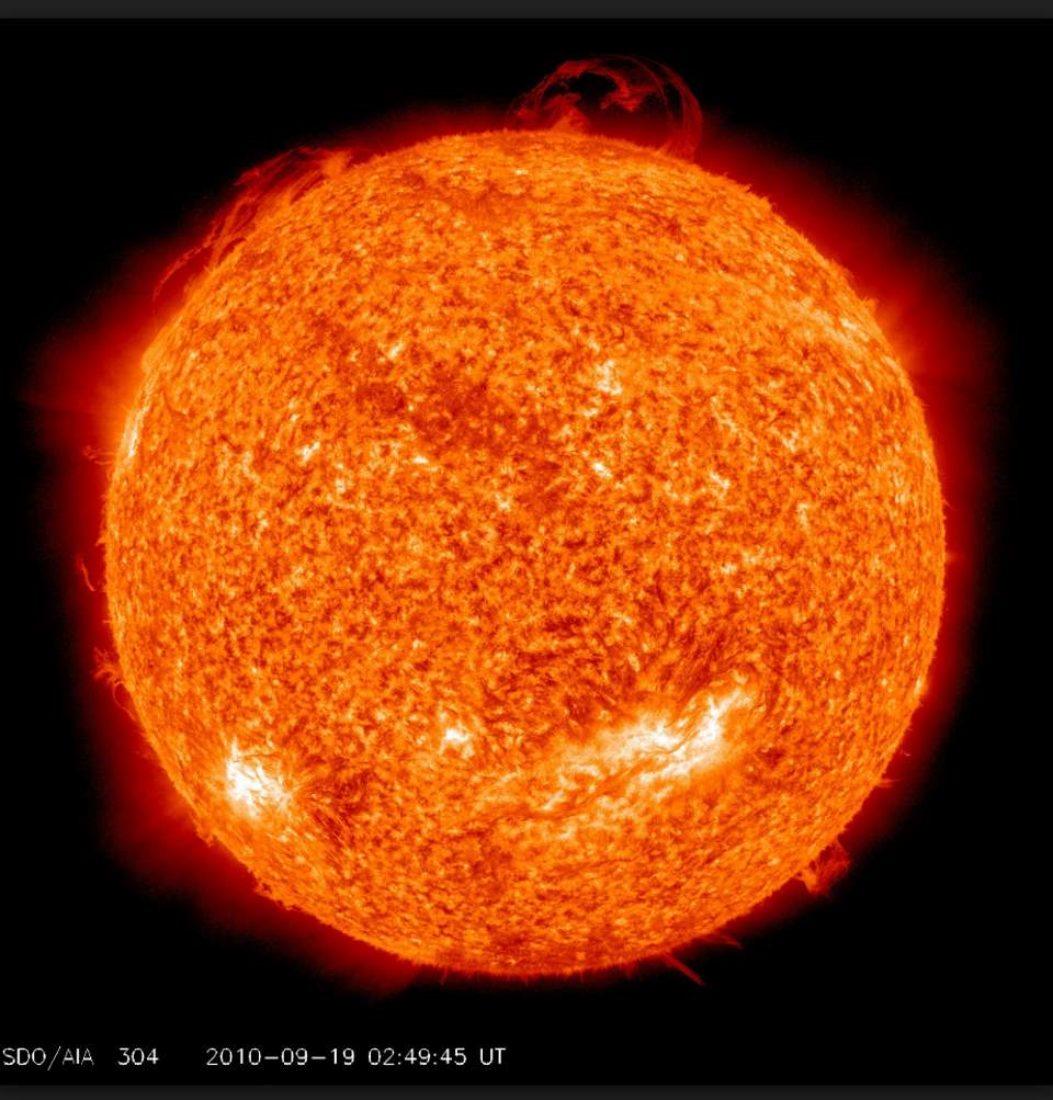 Things that make life on Earth possible: The Sun