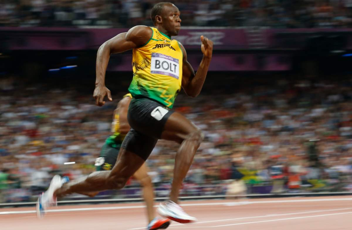 Fastest land animals (human): Usain Bolt