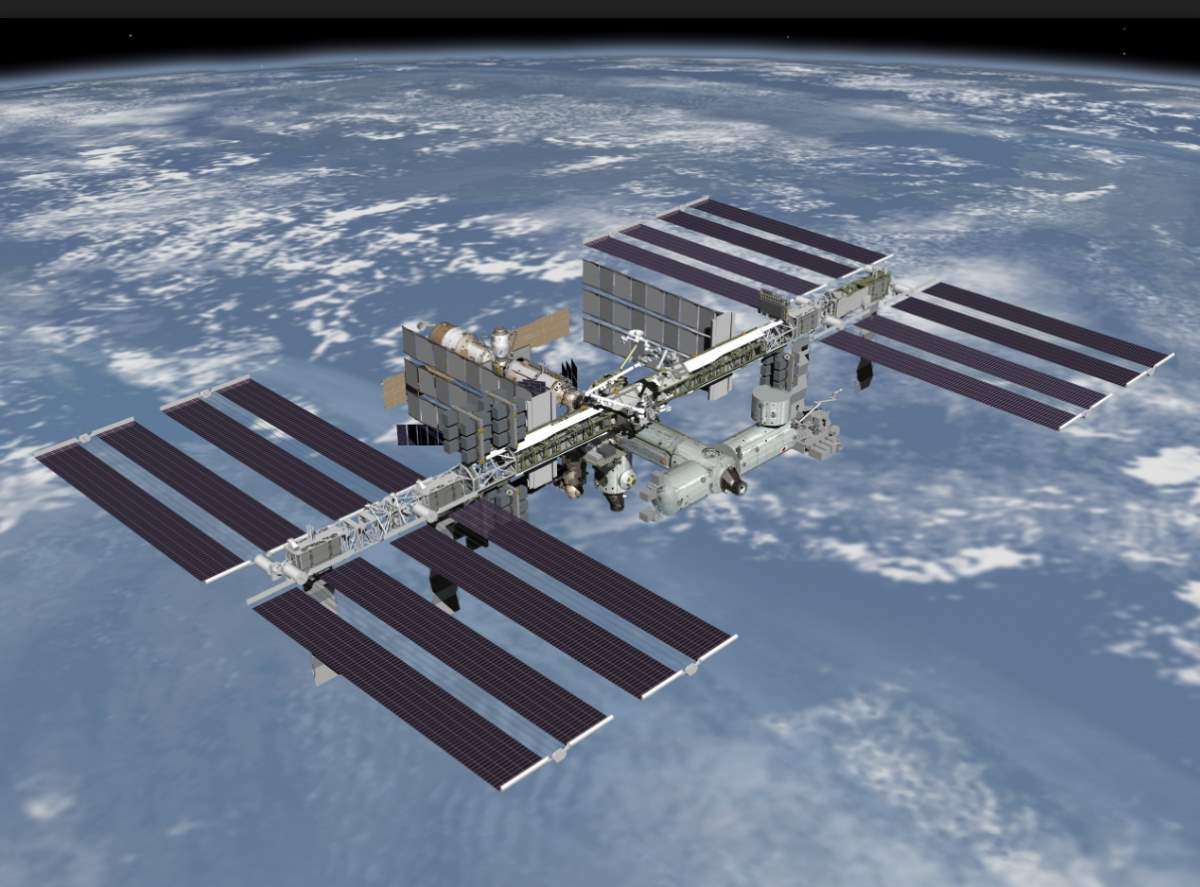 International Space Station (ISS): The coldest place in the known Universe