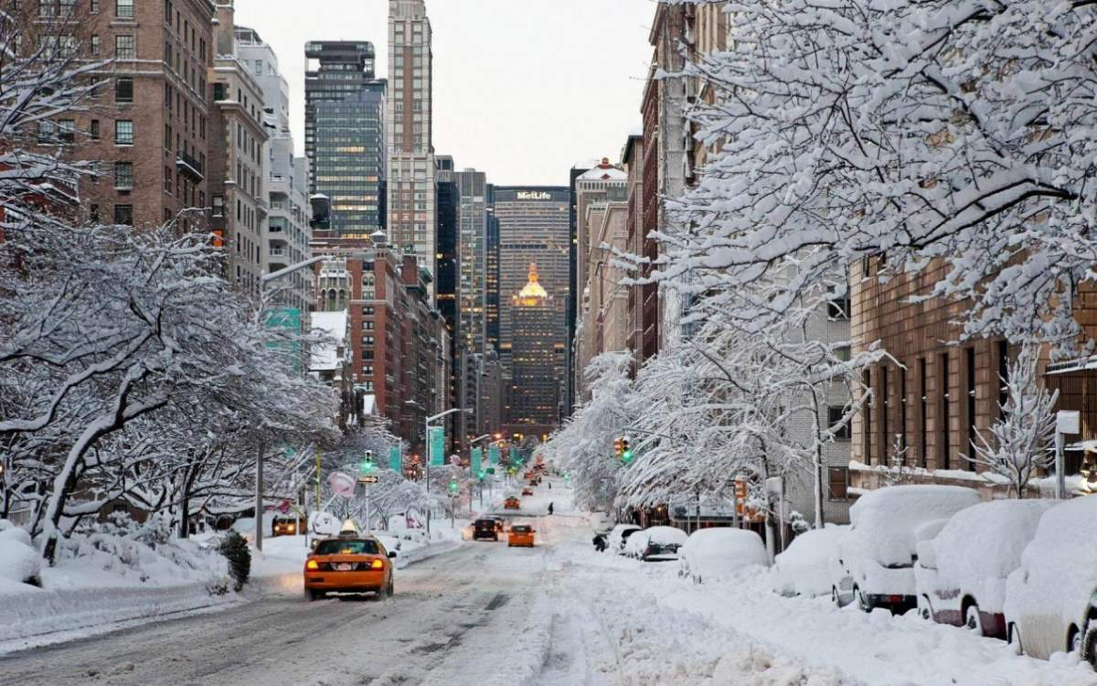 City facts: New York City in winter