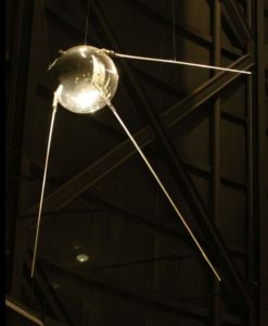 Amazing facts about Earth: Replica of Sputnik 1