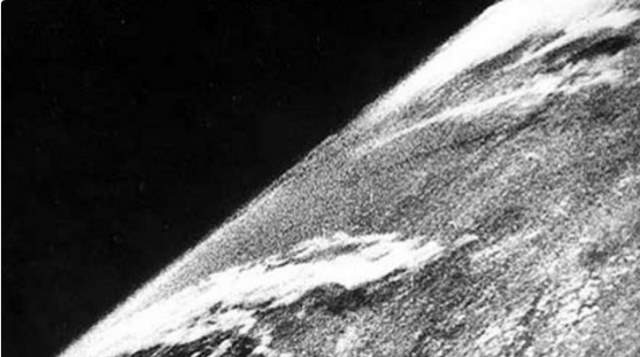 Most Iconic Photos of Earth from Space: The first photo of Earth from the Space