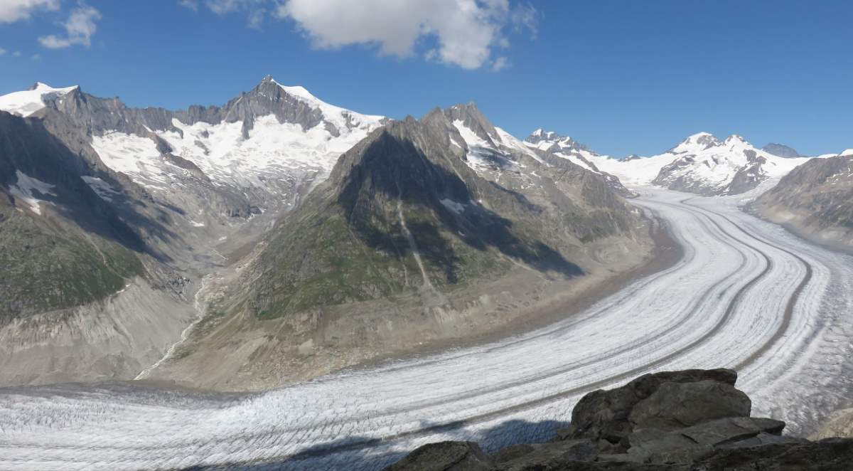 The Aletsch Glacier, Switzerland