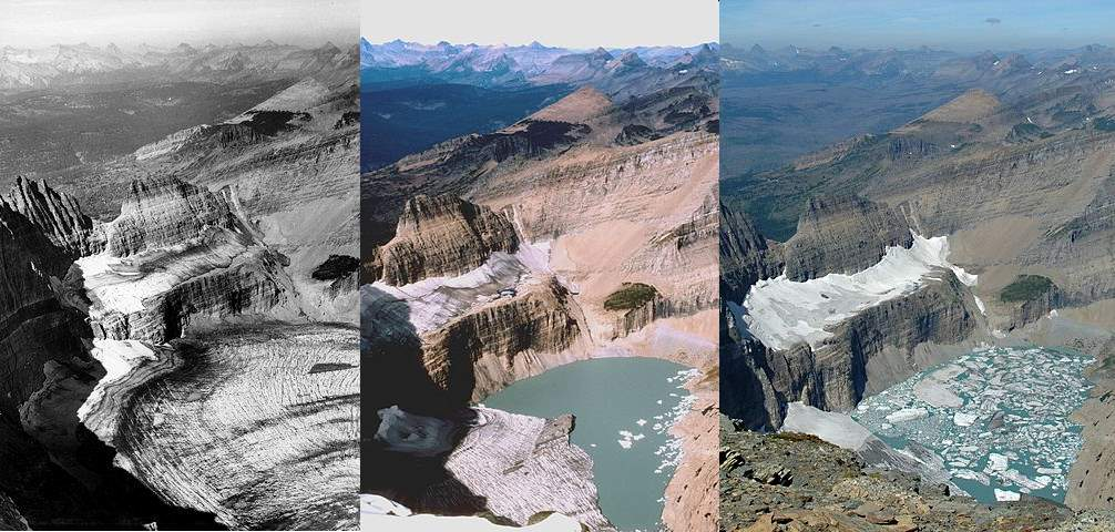 Places to See Before They Have Vanished: Retreat of the Grinnell Glacier
