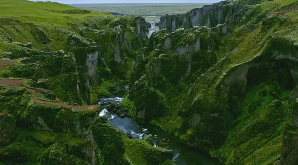 """Nord"", drone footage of Iceland and Norway"